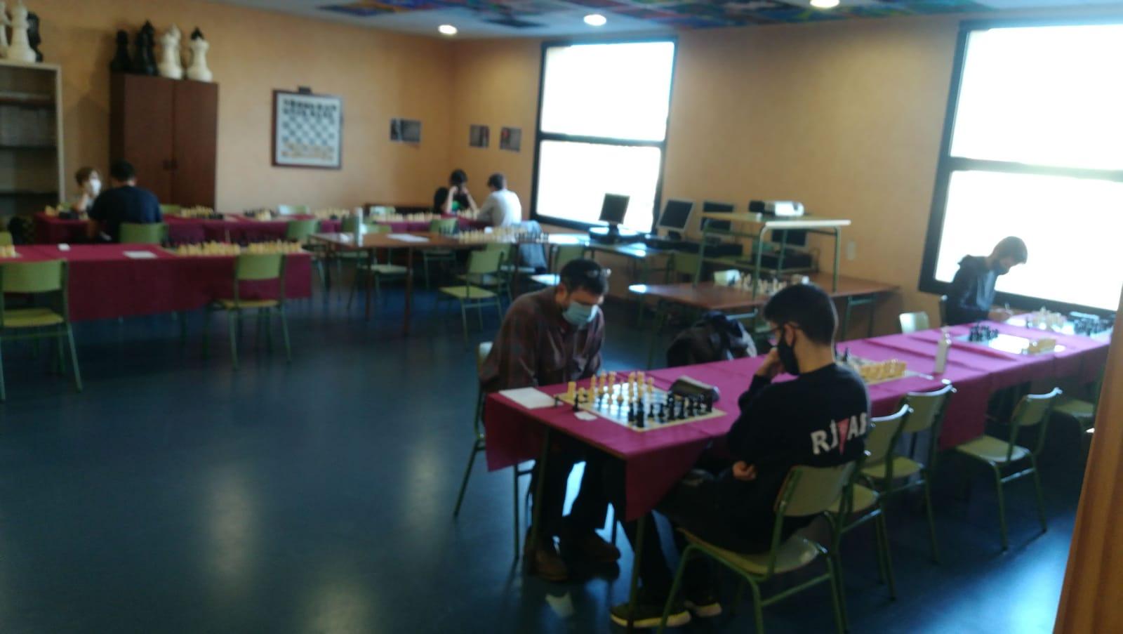 Liga de ajedrez rápido ronda 11-12